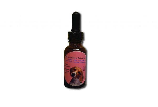 500 mg Alaskan Salmon CBD Pet Oil by California Beach Dog