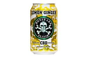 cbd soda lemon