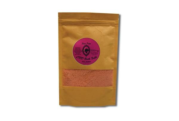 Janevape 300mg CBD Bath Salt gentle geraninal
