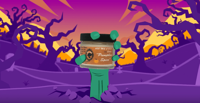 CBD halloween commercial